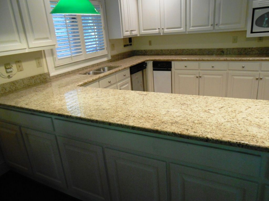 Giallo ornamental granite 4 25 13 granite countertops for 1 inch granite countertops