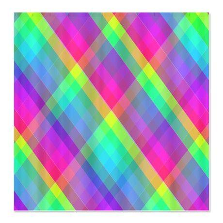 Colorful/Fun Curtains Shower Curtain