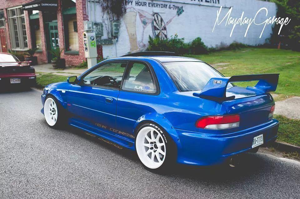 Looking For A 1998 Subaru Impreza Wrx Sti Type R 2 Door Saloon This One Is On Ebay Subaru Impreza Wrx Impreza