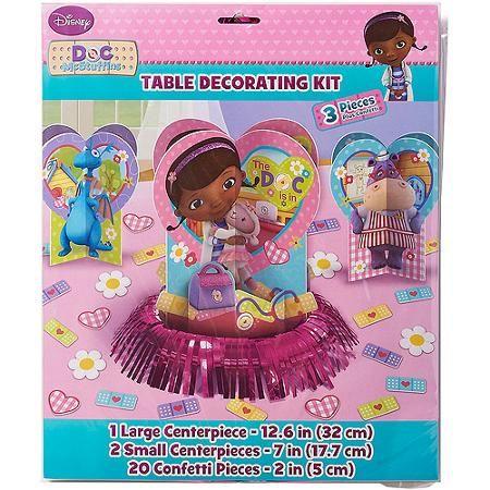 Doc Mcstuffins Party Table Decorations Walmart Com Party Table Decorations Doc Mcstuffins Birthday Party Doc Mcstuffins Party