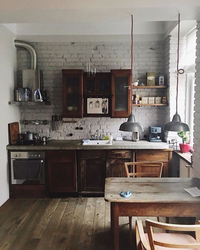 Charming Rustic Kitchen Ideas And Inspirations: Kitchen Inspirations, Kitchen Interior, Kitchen