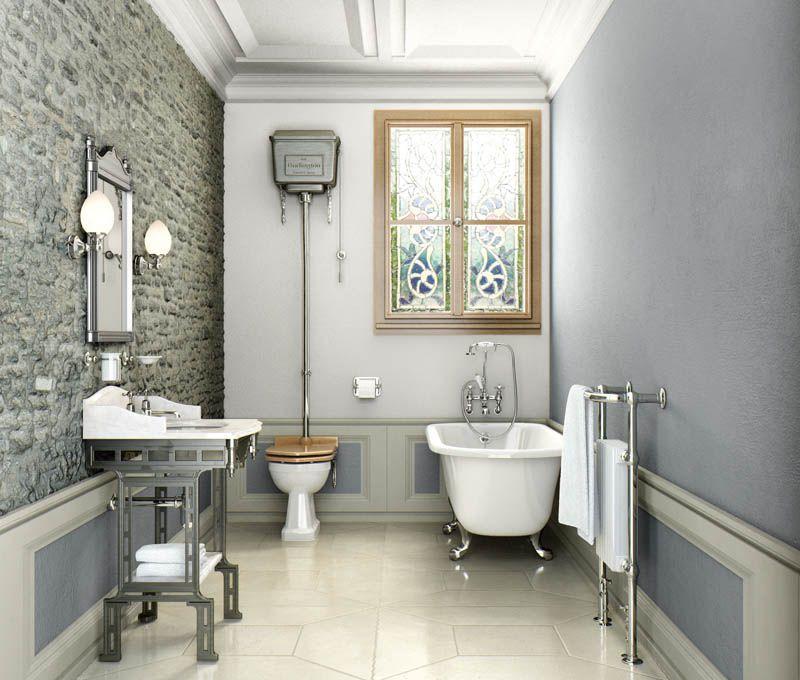 Modern edwardian bathroom Bathroom 1 The Basics Pinterest