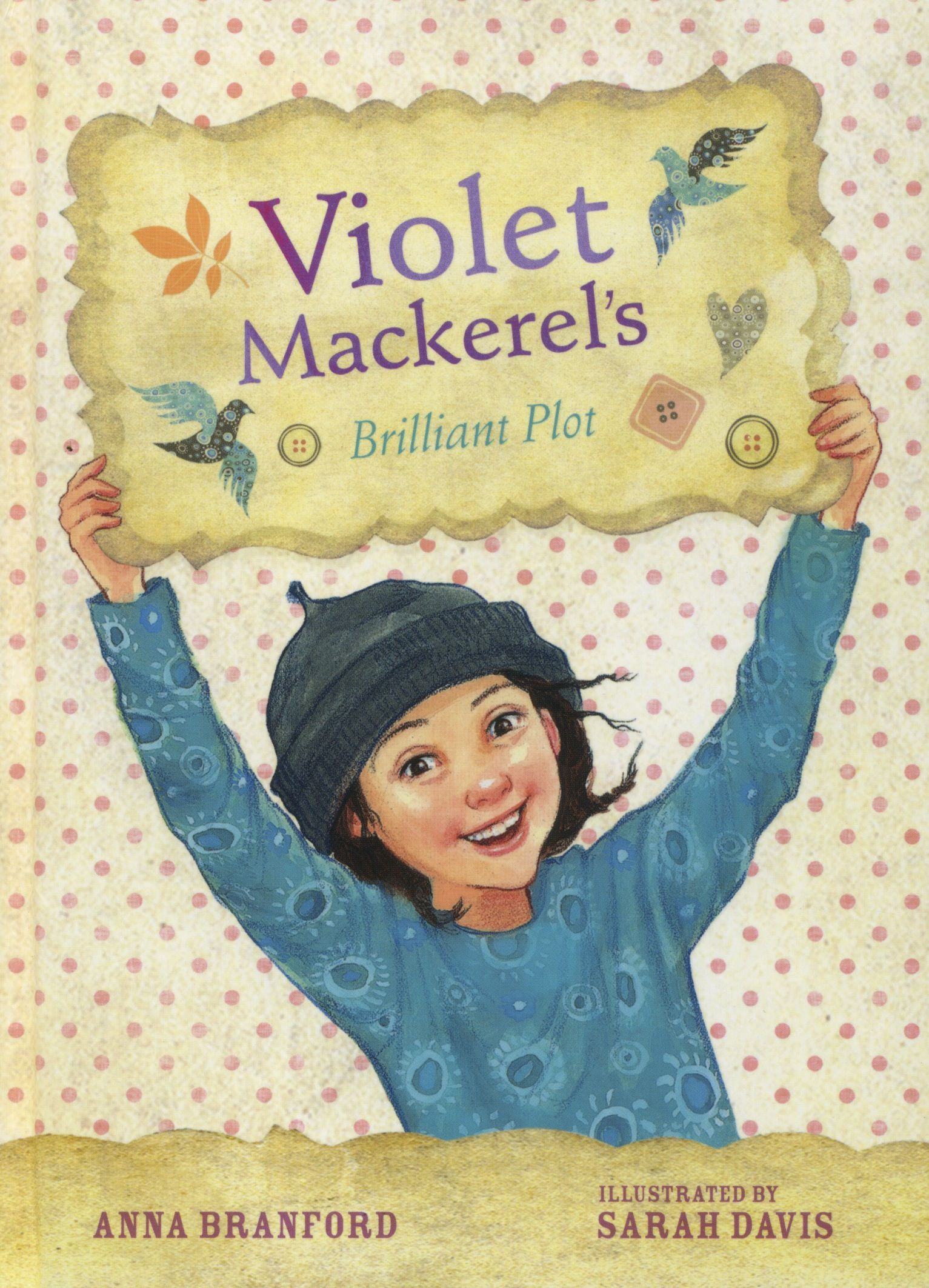 Violet Mackerel's Brilliant Plot by Anna Branford CBCA Shortlist 2011 Young Readers.  FREE Unit of Work for Ages 7-10