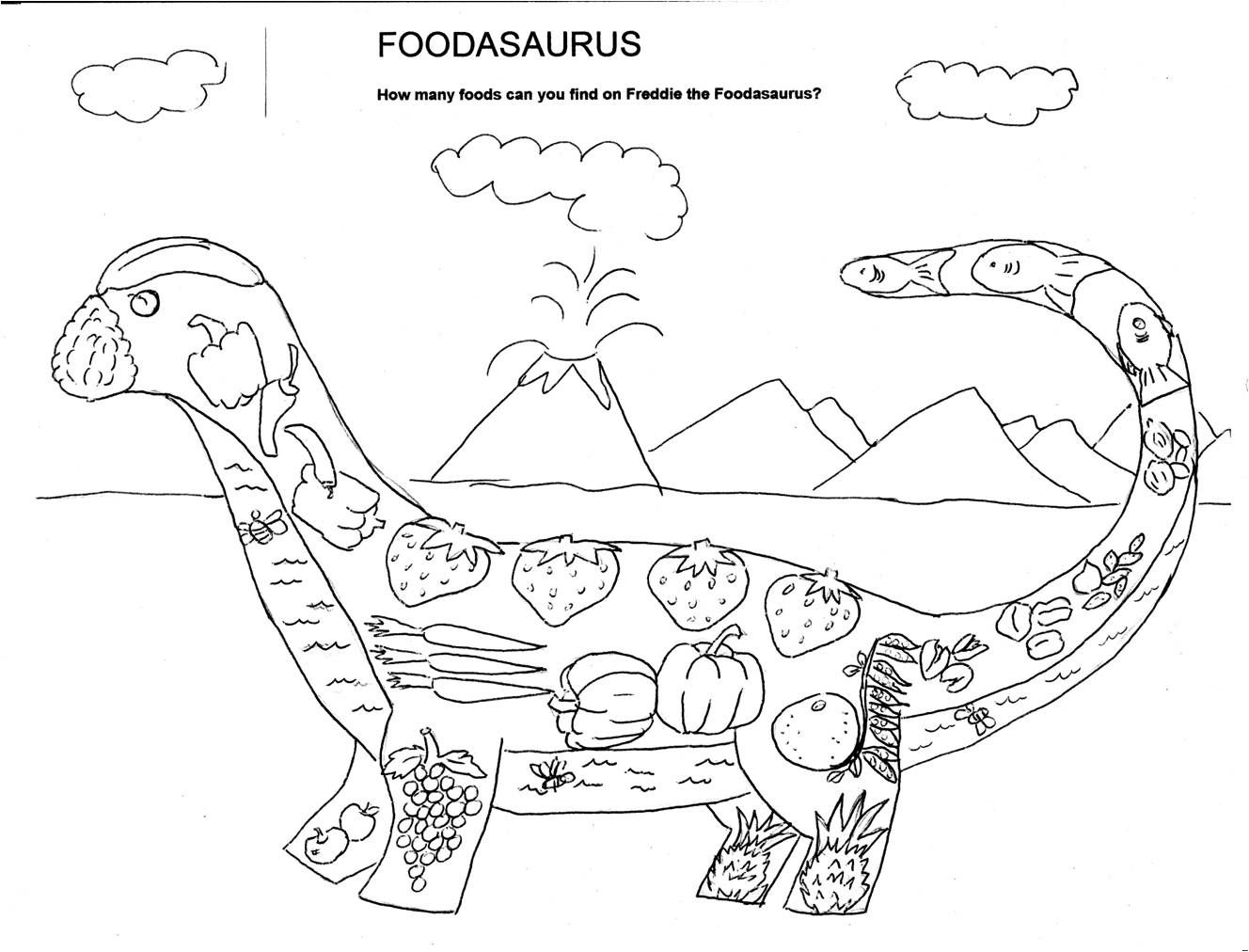 food and nutrition coloring pages - photo#18
