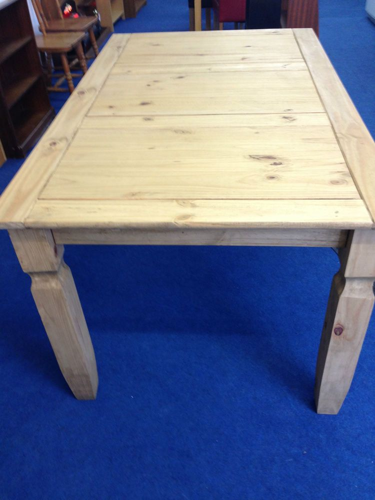 Gentil Mexican Furniture | Solid Pine Dining Table | Pine 5ft DGenuine Corona  Mexican Pine Furniture Table Will Seat Up To Six People Only 3 Left Call To  Order Now ...