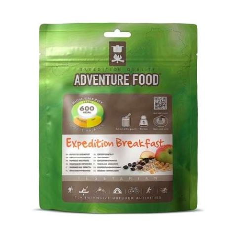 Expedition Breakfast Adventure Food Backpacking Freeze Dried Camping Meals