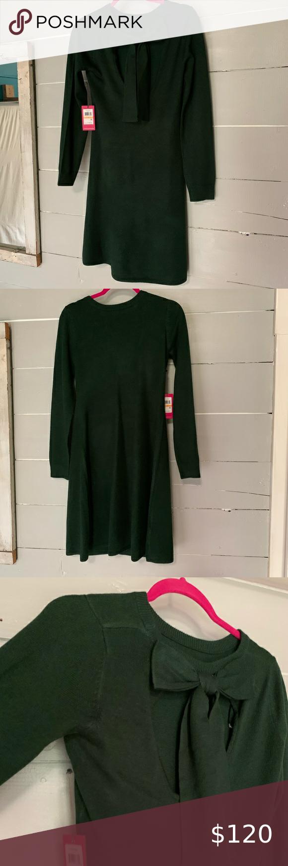 Nwt Vince Camuto Hunter Green Dress Hunter Green Dresses Flattering Fashion Clothes Design [ 1740 x 580 Pixel ]