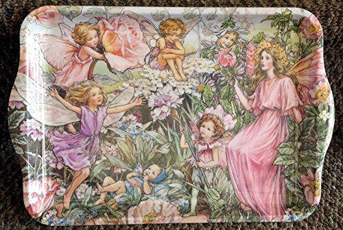 Flower Fairy Tea Serving Tray for Girls {jg} GREAT FOR MOM, SISTER, AUNT, COUSIN, GRANDCHILDREN, GRANDMA AND RELATIVES. Flower Fairy http://www.amazon.com/dp/B00UFEVSYS/ref=cm_sw_r_pi_dp_5Rj7wb1RMY88X
