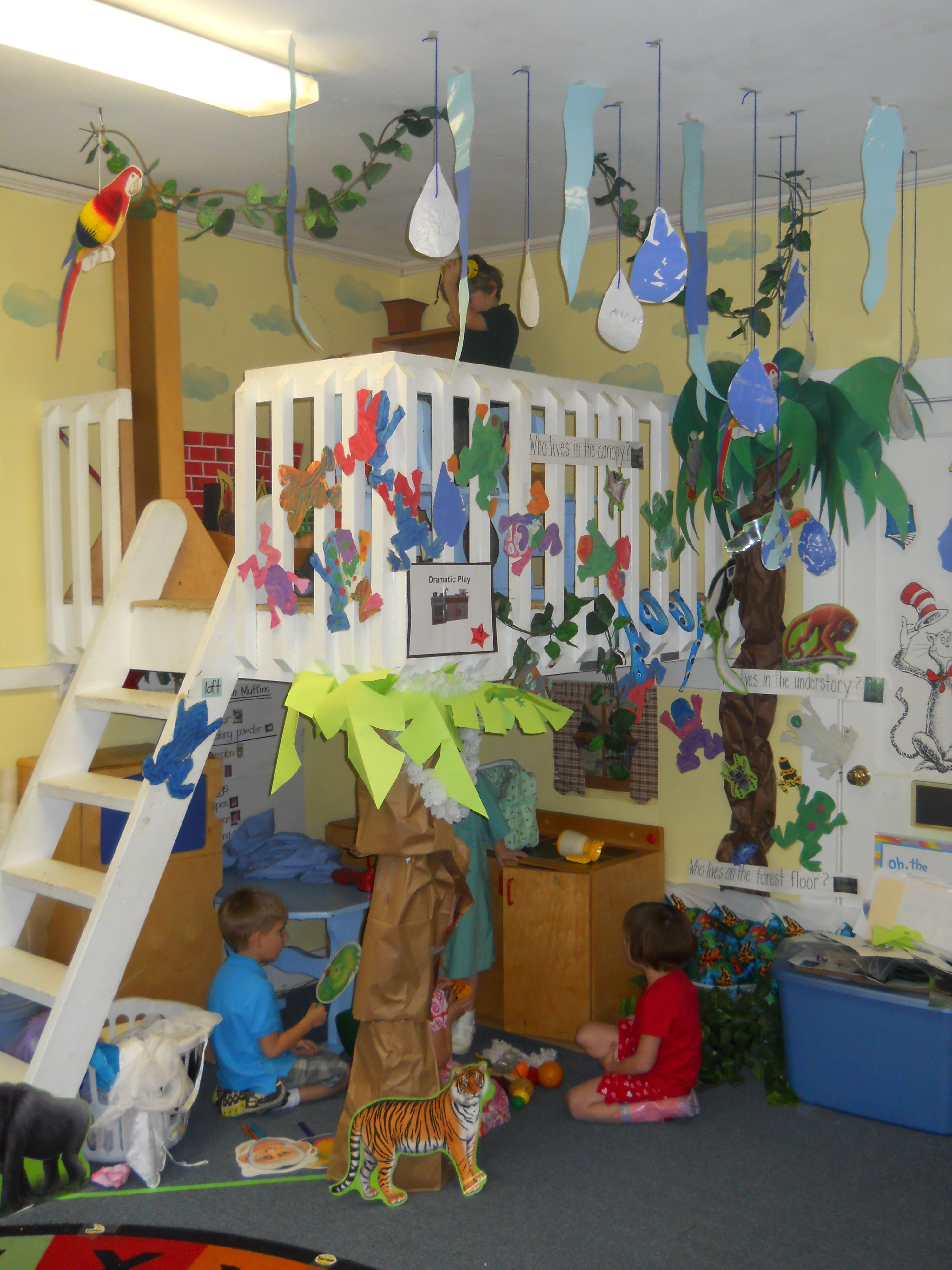 In the playroom