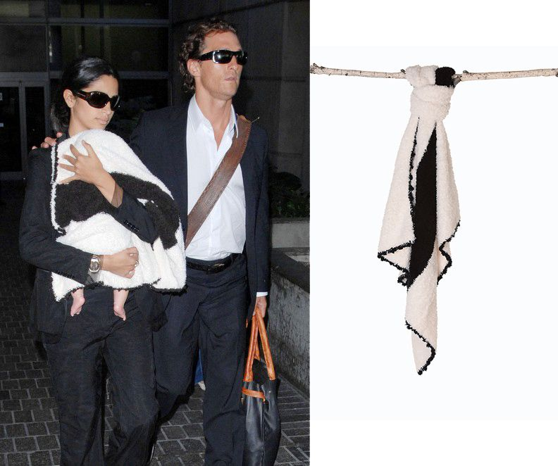 Matthew McConaughey and Camila Alves are with little Levi 9b37ea9be