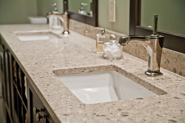 Stylish Bathroom Designs With Cultured Marble Countertops White