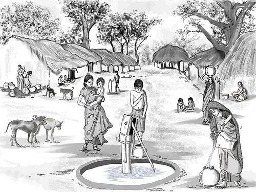 Simple indian village scene 500375 visit http www omnipopmag com main for more omnipop omnipopmag