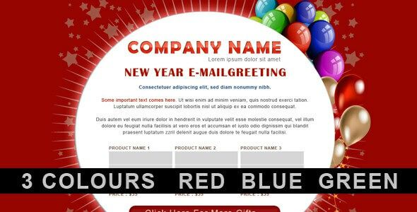 Top 15 New Year Email Newsletter Templates 2020 (Best ...