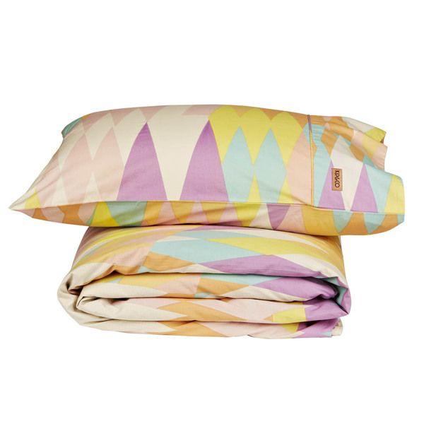 Croc Pastel Single Quilt Cover/Pillow Set available at MintSix