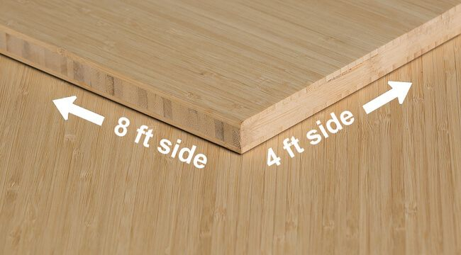 1 4 Inch Natural Vertical Unfinished Bamboo Plywood Bamboo Plywood Bamboo Plywood