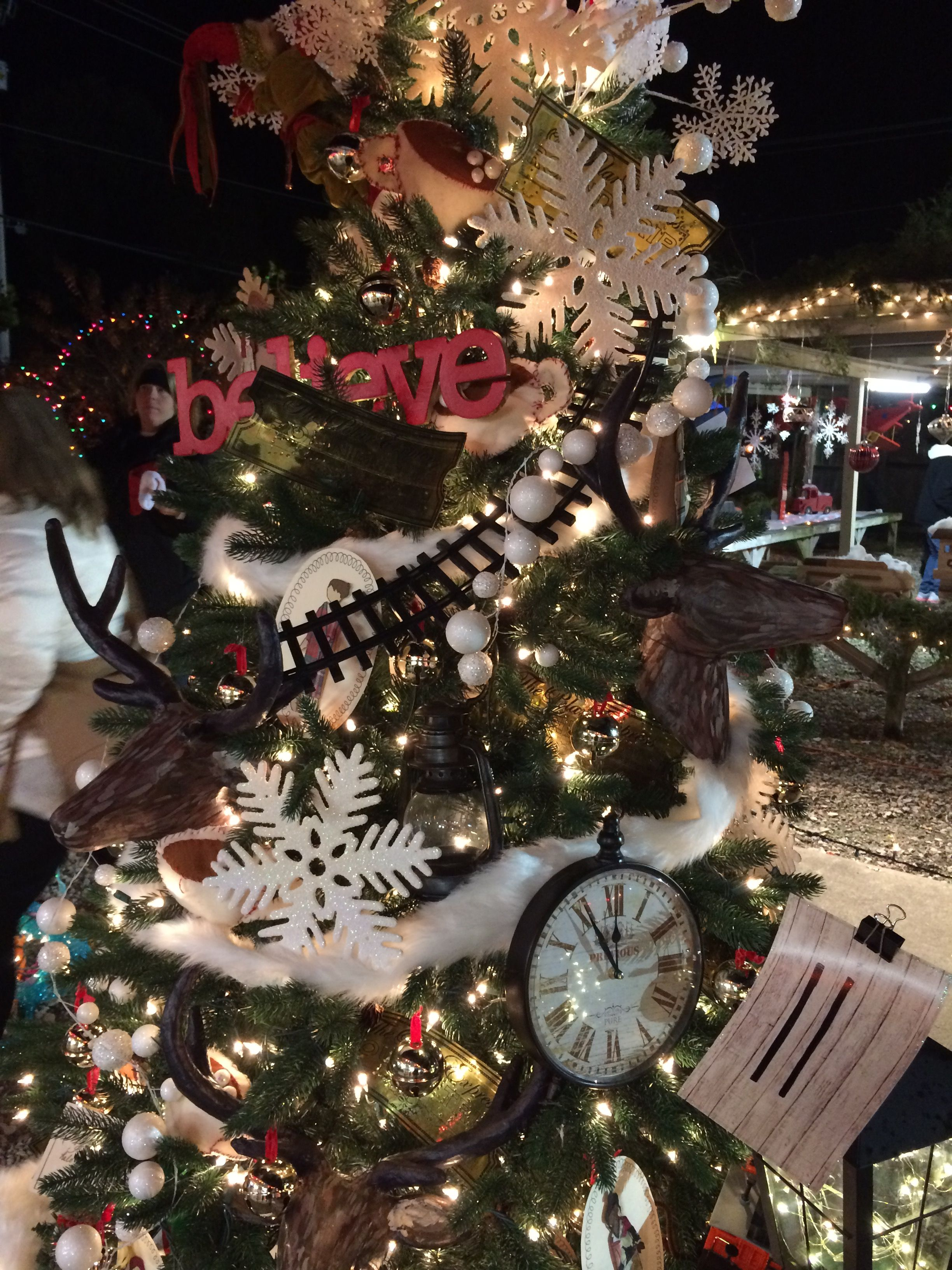 Polar Express Christmas Tree