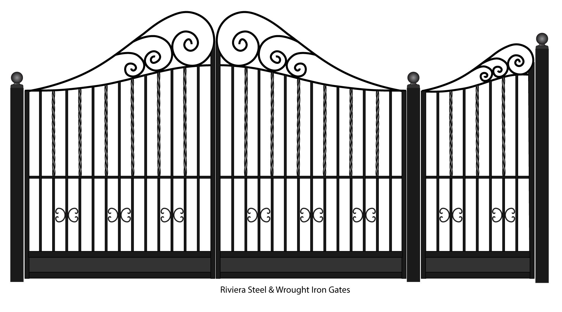 Riviera Wrought Iron entrance gates | Iron gates, Wrought ... on decorative iron gates for homes, sliding window designs for homes, ceiling designs for homes, iron security gates for homes, new window designs for homes, window grill designs for homes, modern gate designs for homes, side gate designs for homes, portico designs for homes, wood gate designs for homes, lawn designs for homes, door designs for homes, bay window designs for homes, iron walkway gates, iron gates design in the philippines, steel gate designs for homes, media room designs for homes, wrought iron gate for homes, bathroom window designs for homes, gutter designs for homes,
