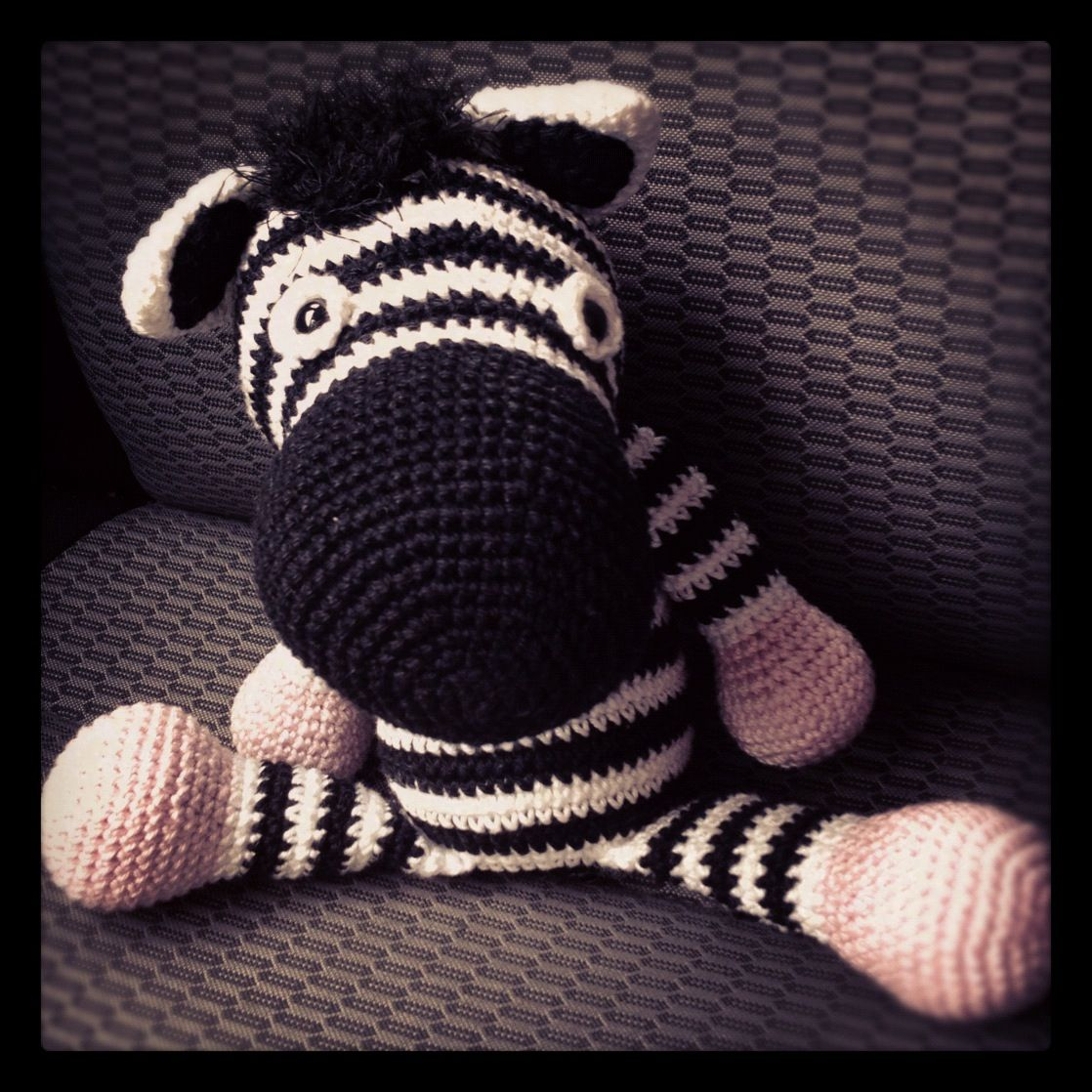 Fancy little zebra