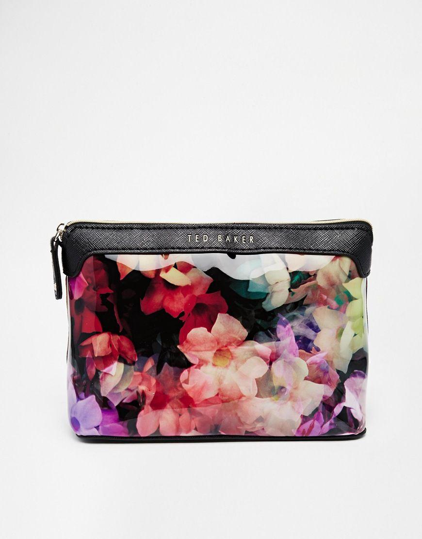 Ted Baker Cascading Floral Wash Bag Wash Bags Ted Baker Bags