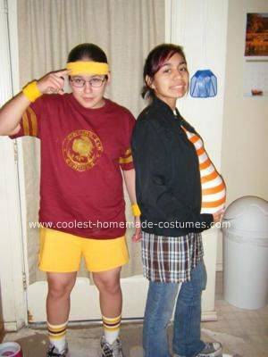 coolest homemade juno and bleeker couple costume - Juno Halloween