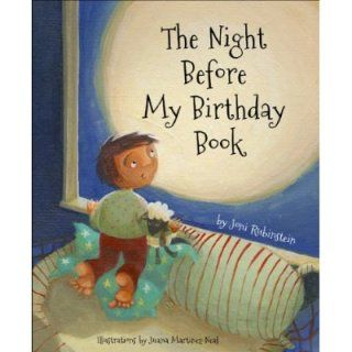 The Night Before My Birthday Book - beautiful book with blank pages and lines to fill in so you can make it your own year after year. Lovely.
