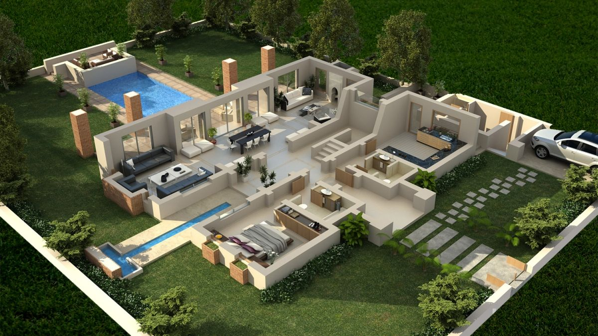 Million 3d The Largest 3d Network We Ll Help You Live Your Success It All Starts With A Vision We Ju 3d House Plans Sims House Design House Designs Exterior