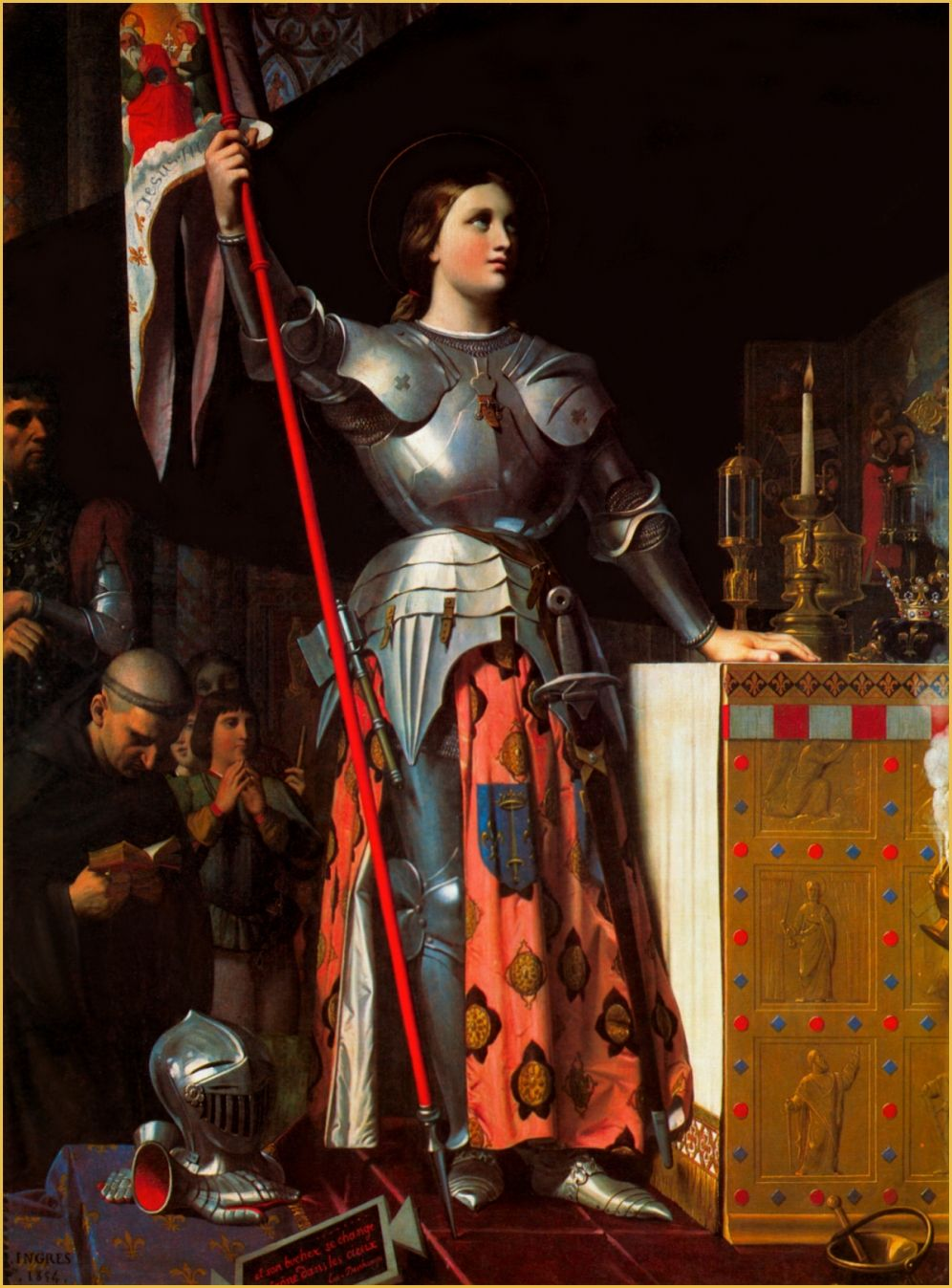 The Litany of St. Joan of Arc Composed by Louis, Bishop of Saint Dié http://www.catholictradition.org/Litanies/litany64.jpg