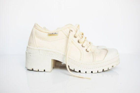 JJ LESTER 90s Platform ShoesSneakers Palladium by