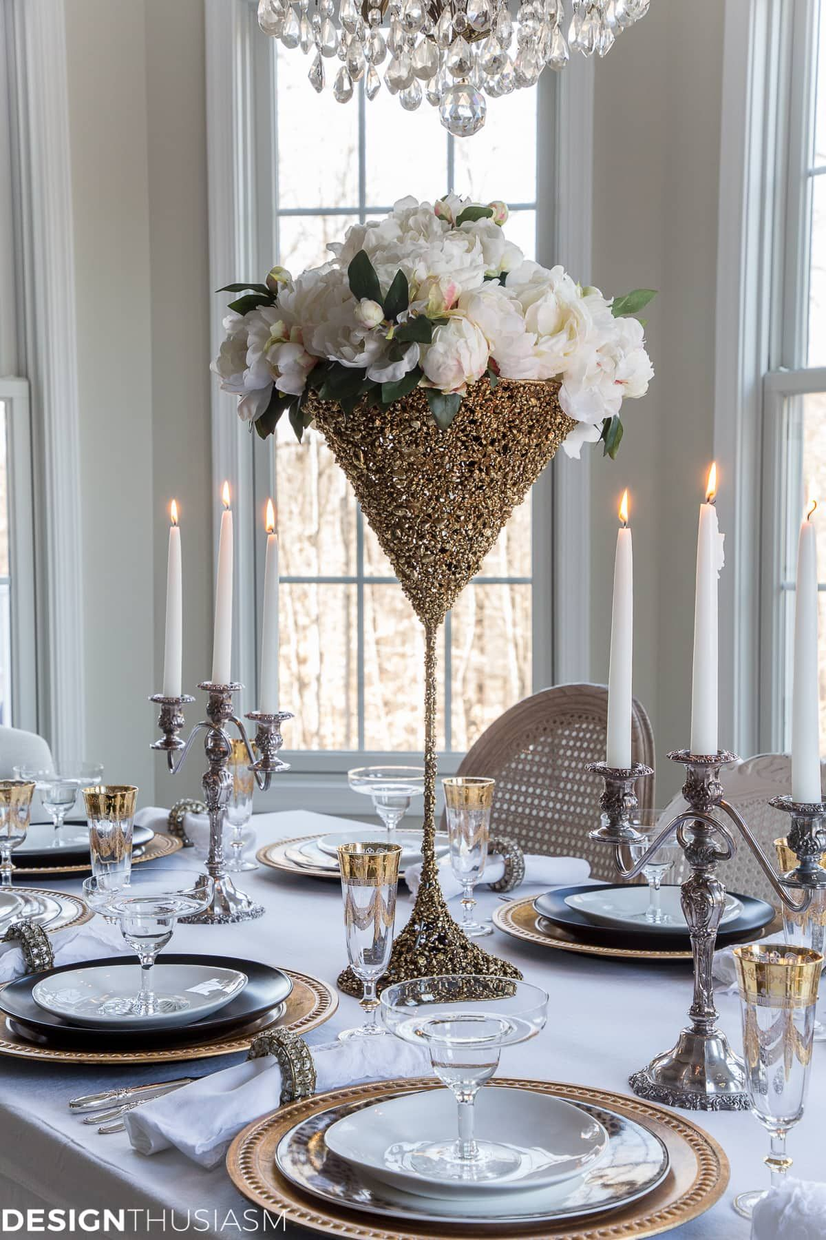6 Easy Steps to a Fabulous Table for a New Years Eve Party ...