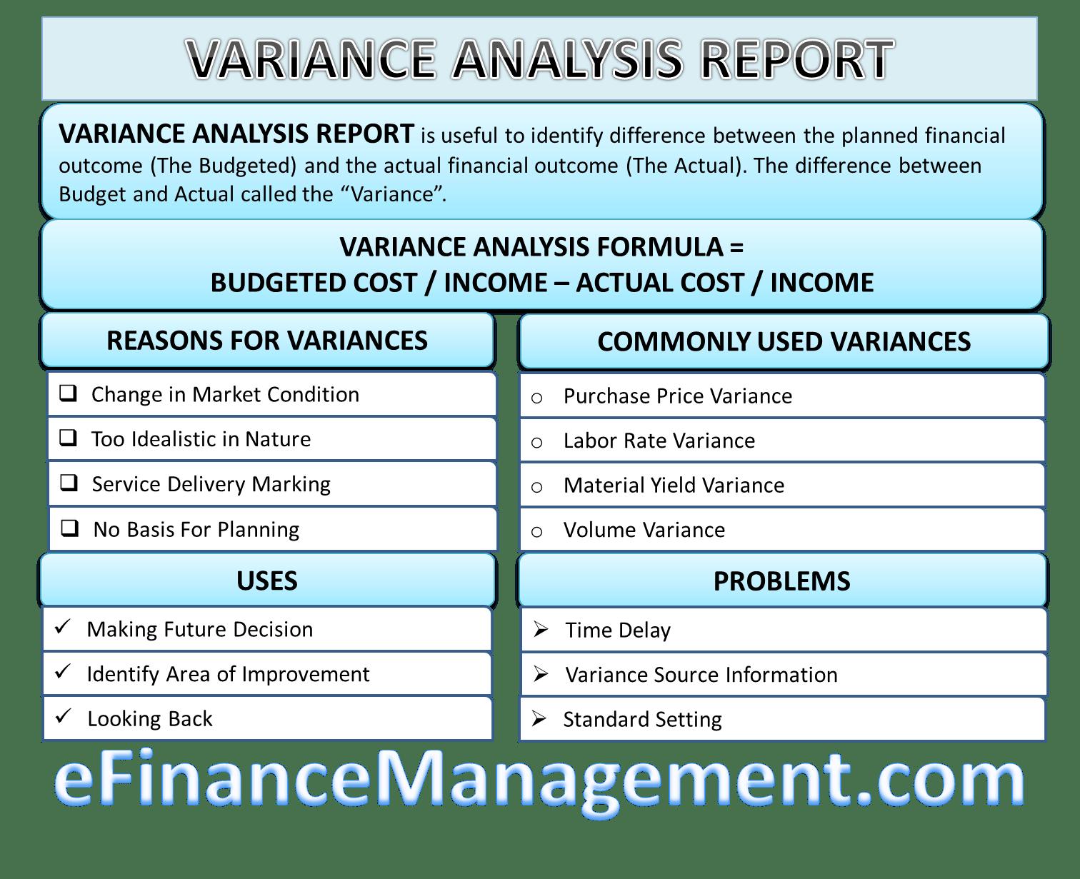 Varianceysis Report