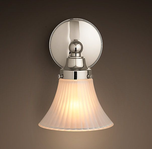 Rhs chatham single sconcechatham features ball and spool finials soft angles and a timeless style find this pin and more on bathroom lighting