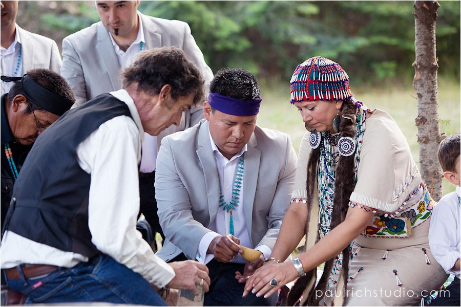 Traditional Navajo wedding ceremony Paul ritch