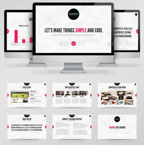 Creative Business Powerpoint Presentation Templates