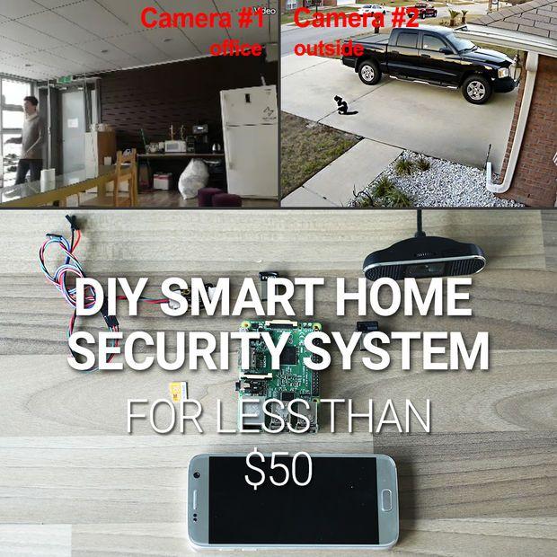Diy Smart Home Security System For Diy Home Security Best Home Security Wireless Home Security Systems