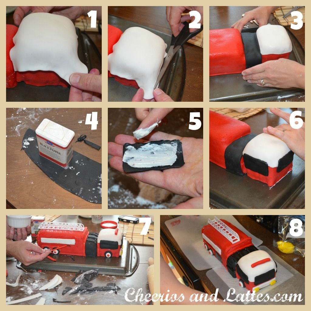 As a 'self-taught 'baker,'' I knew I had my work cut out for me this year in baking Big Brother's 3rd Birthday Cake, when he asked for a Fire Truck Themed Party. As I began to plan the cake o...
