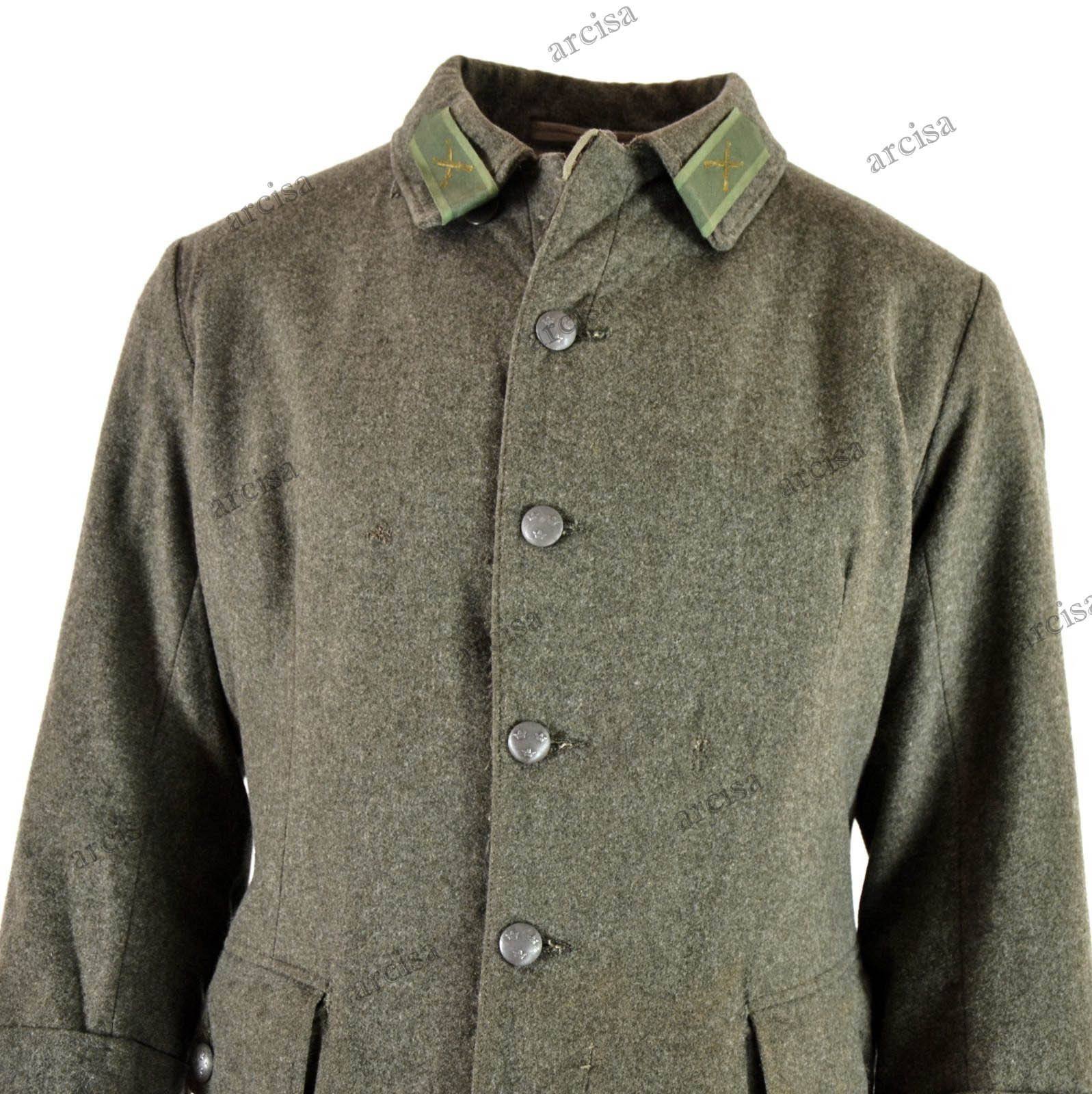 Details Zu WWII Original Vintage Swedish Army Wool Uniform