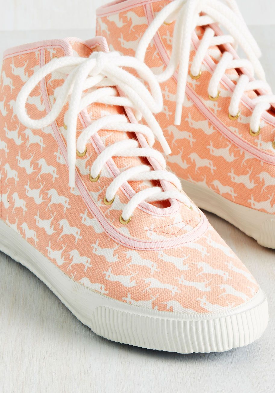 19090cb138f6 Everyday Energetic Sneaker in Pink Unicorn. Kick your day off with a little  character