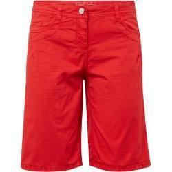 Photo of Tom Tailor Damen Chino Slim Bermuda Shorts, rot, unifarben, Gr.36 Tom TailorTom Tailor