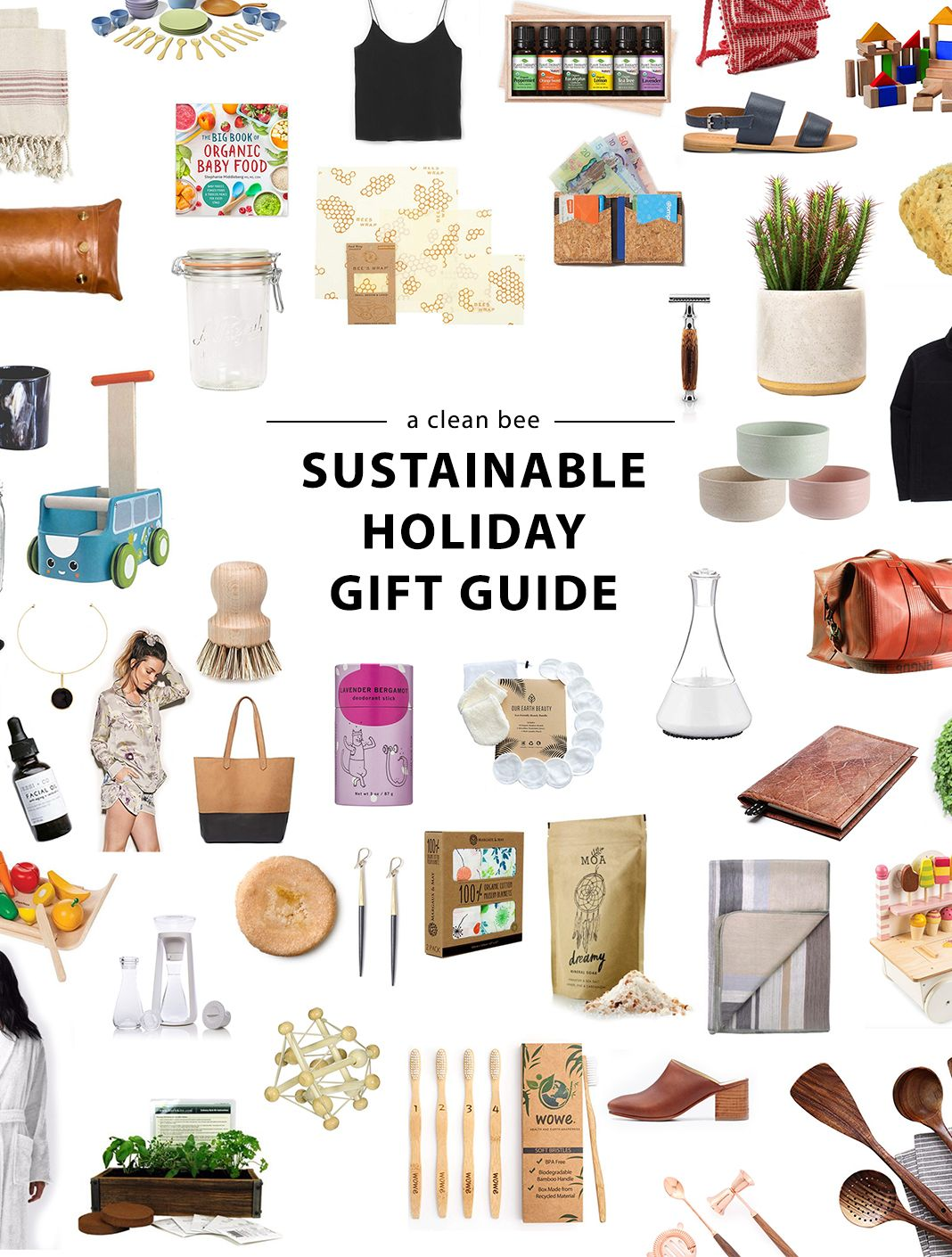 2018 Sustainable Gift Guide Sustainable Gifts Diy Gifts