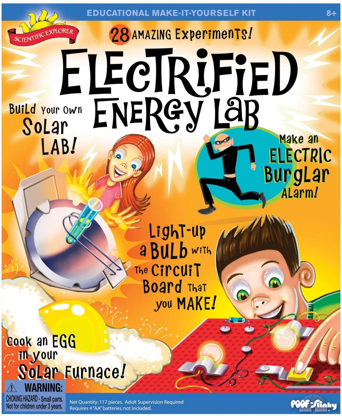 Electrified Energy Lab Science kits, Energy, Experiments