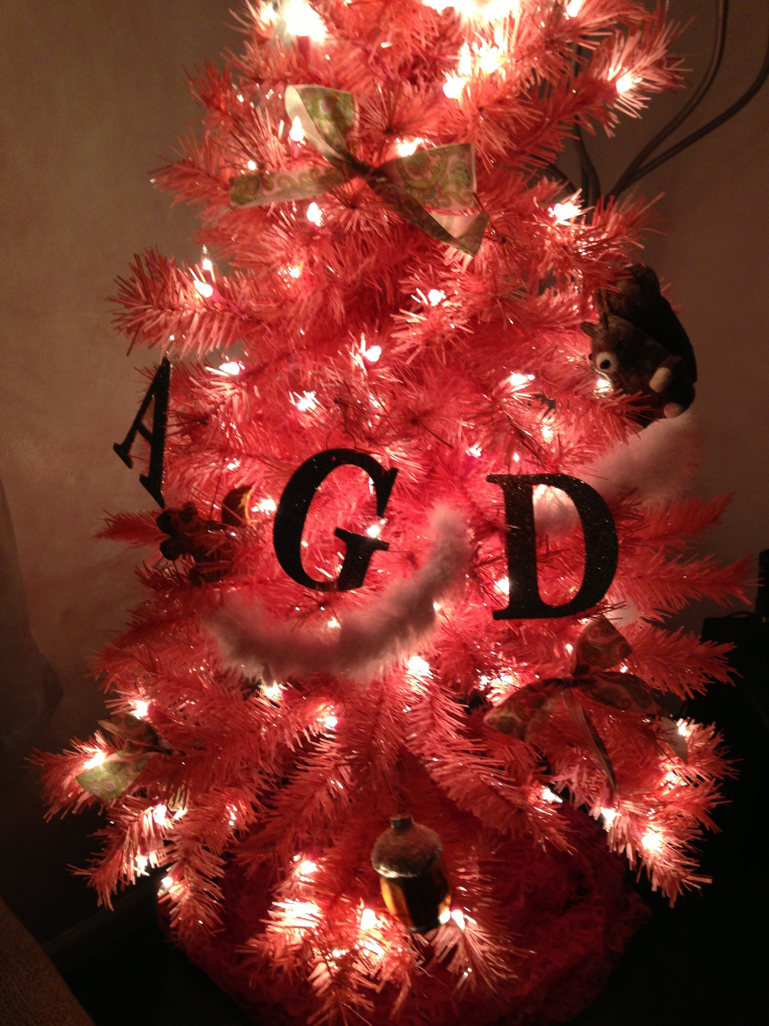 Agd Christmas Tree Let Me Stop You Right There Alpha Gamma Delta Christmas Tree Christmas