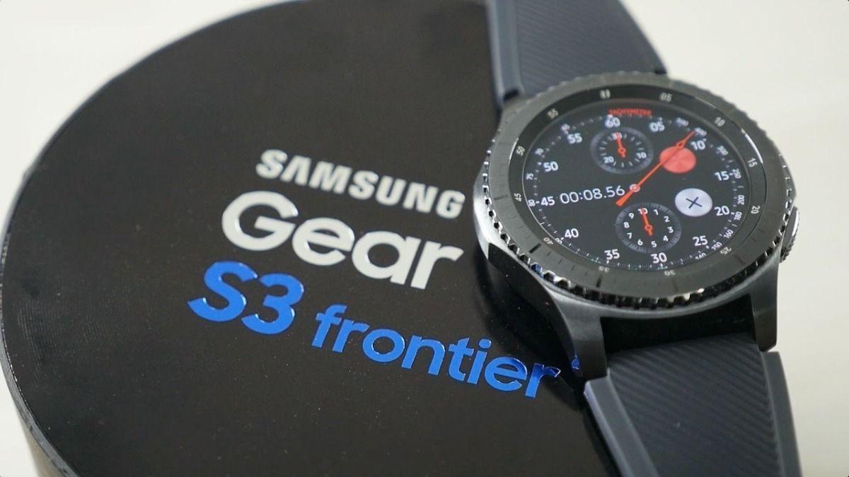 Super Descuento En Reloj Samsung Gear S3 Frontier Ofertasciclismo Smartwatch Samsung Reloj