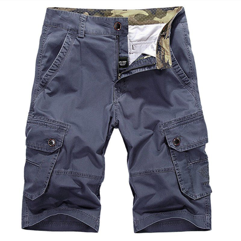 Men's Cargo Mid Waist Shorts