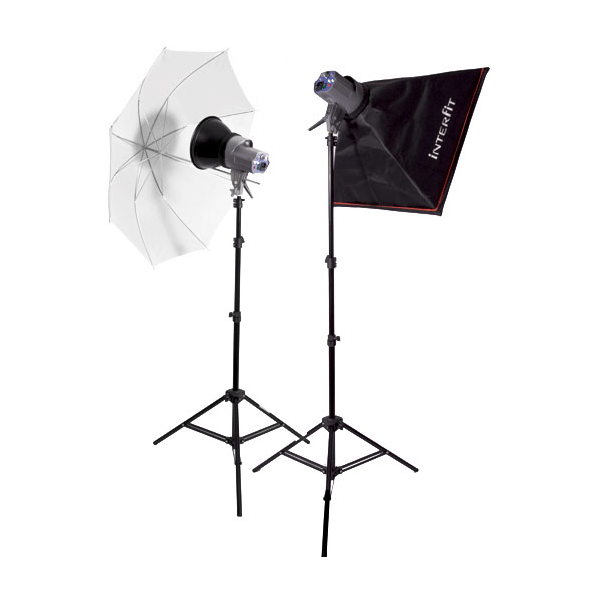 Creative Umbrella Softbox: Foto - Interfit EX-150 Blixtkit MKII 2.999 SEK