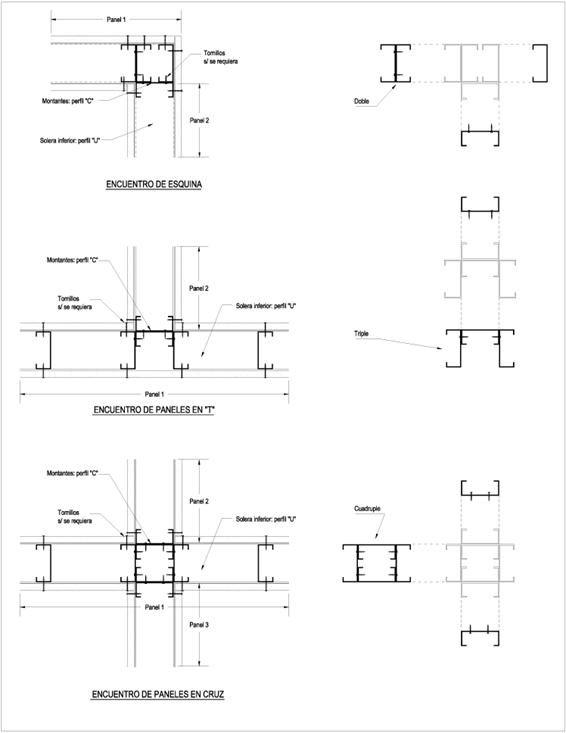 Detalles De Esquinas En Construccion Con Paneles De Yeso O Cemento Como Construir Construccion En Seco Construccion De Edificios