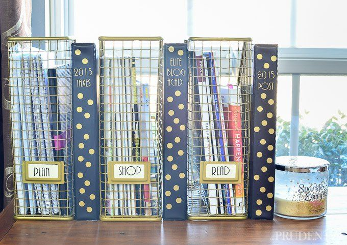 Organize Your Dorm Room With These 6 Dollar Store Items Part 49