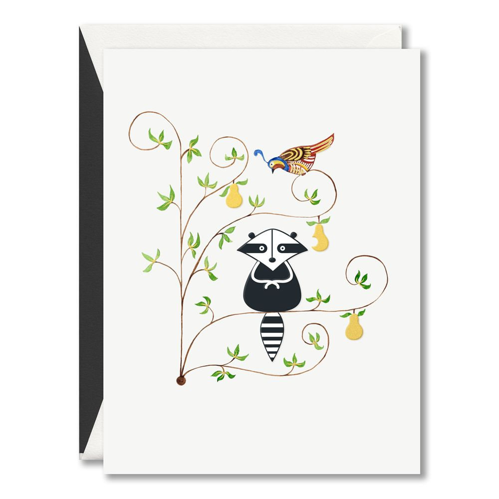 Holiday bandit boxed greeting cards the notable partridge receives holiday bandit boxed greeting cards the notable partridge receives a visitor to his pear tree m4hsunfo