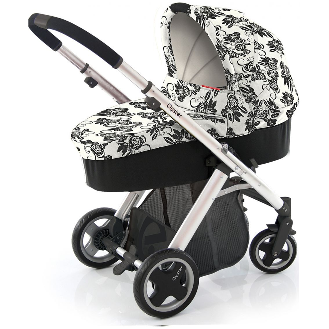 Babystyle Oyster Babystyle Oyster Vogue 3 in 1 Pram Black
