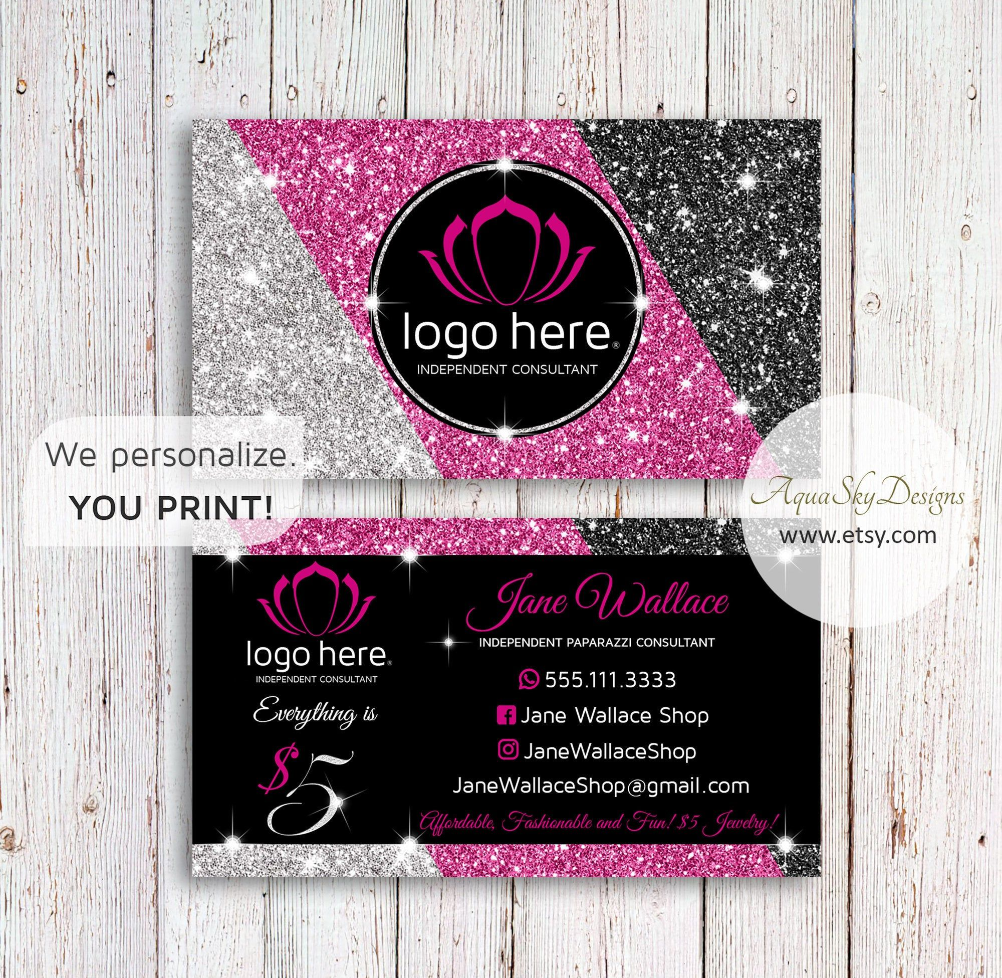 Paparazzibusinesscards Pink Paparazzi Business Card Template Paparazzi Accessories P Jewelry Business Card Pink Business Card Business Card Design Inspiration