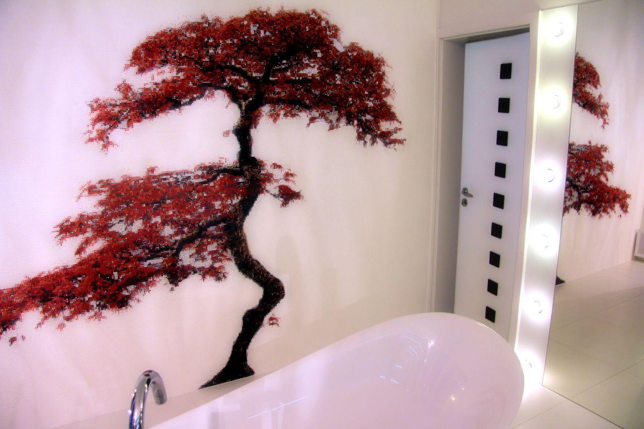 Bathroom Design Ideas   Mosaic Wall Mural Art.